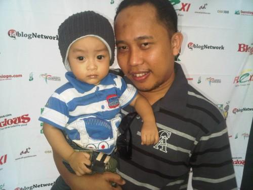 Bara juga hadir di Blogilicious Fun Makassar 2011