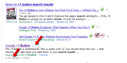 Cara Kerja Google +1