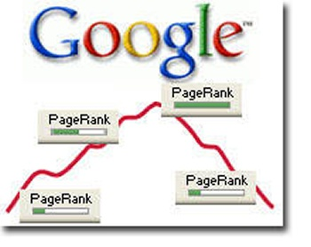 google pagerank down