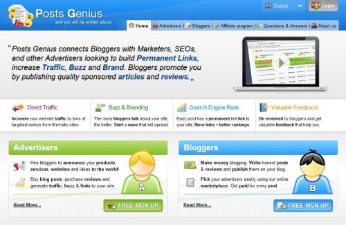 Make Money Blogging with PostGenius