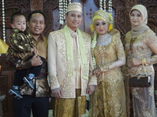Pernikahan Herman Tadda dan Mbak Diah: Selamat Berbahagia