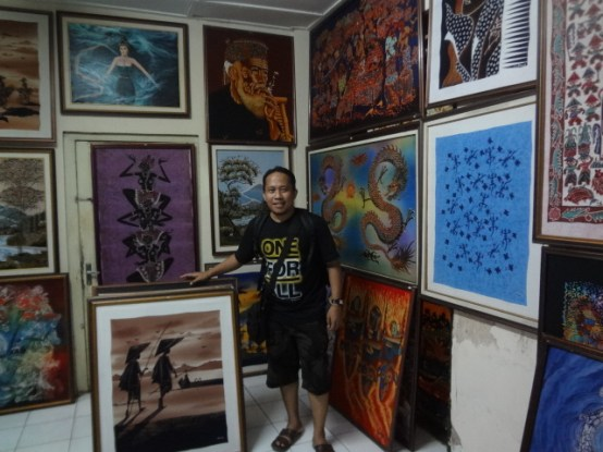 Di Pusat Lukisan Keraton Jogjakarta