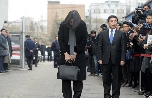 Wakil Presdir Korean Air Heather Cho Meminta Maaf Kepada Publik