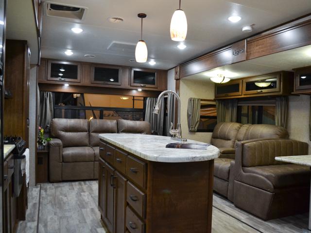 travel trailers with rear kitchen sink drain catcher open range light 272rls - living outside ...