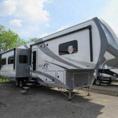 Fifth Wheel Campers With Bunkhouse And Outdoor Kitchen Blue Cabinet Knobs 2018 Open Range Roamer 374bhs 5th ...