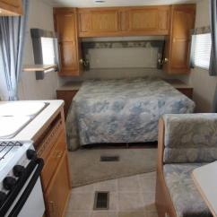 Rv Kitchen Sink America's Test Knives Used 2003 Jayco Jay Flight 21fb Front Queen Bed Travel Trailer