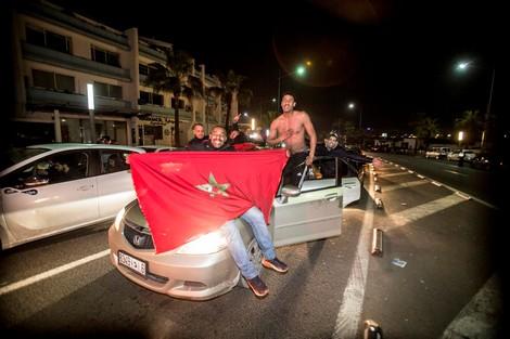 أجواء الفرحة من برشيد بعد تأهل الأسود