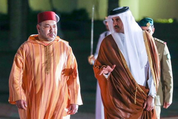 قطر ترد على فبركة صورة للملك محمد السادس