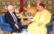 المٓلك محمد السادس يهاتف الرئيس الفلسطيني محمود عباس