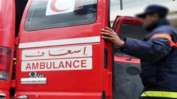 اصابة 17 دركيا إثر انقلاب حافلة عسكرية ضواحي وجدة