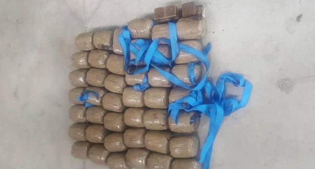 حجز 28 كلغ من مخدر الشيرا بميناء طنجة المتوسط