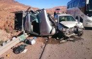 مصرع حاجين يمنيين وإصابة 36 آخرين في حادث سير
