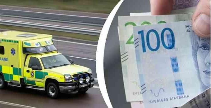 السويد تفرض رسوما تبلغ (400) كرون عند طلب سيارة الاسعاف لمنازل المرضى