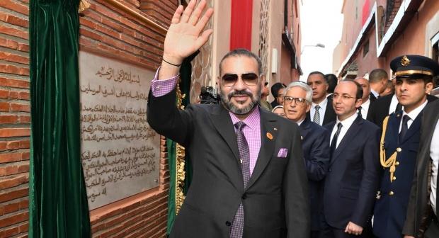 الملك يدشن مشروعين تضامنيين يرومان تعزيز العرض الصحي بالمدينة العتيقة لمراكش