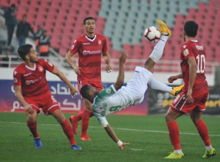 رغم فوزه بتونس..الرجاء يخرج من البطولة العربية