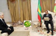 نزار بركة يسلم رسالة ملكية خطية إلى الرئيس الموريتاني