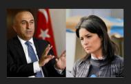 نائبة فرنسية تنعت وزير خارجية تركيا بالمتغطرس وقليل الأدب