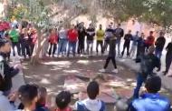 المنشآت الشبابية والرياضية تخرج شباب أولاد سعيد الواد بقصبة تادلة للإحتجاج وسط ساحة الجماعة