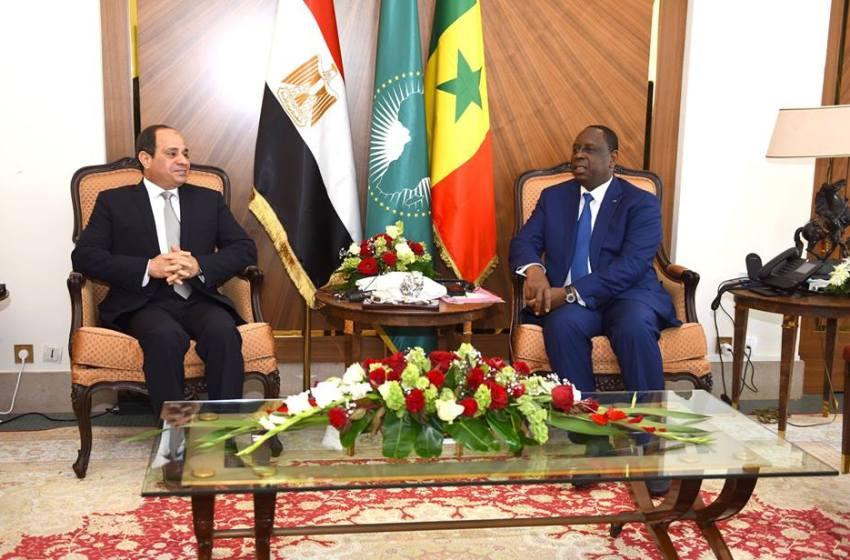 مصر والسنغال يبحثان التعاون في مجال مكافحة الإرهاب
