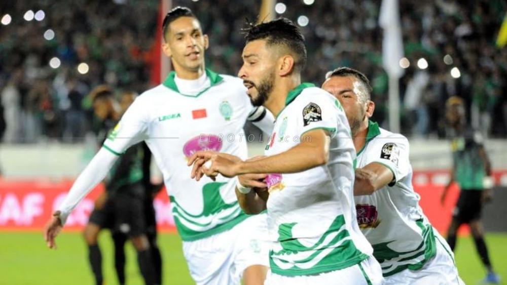 أربعة لاعبين رجاويين مهددون بالغياب عن نهائي البطولة العربية