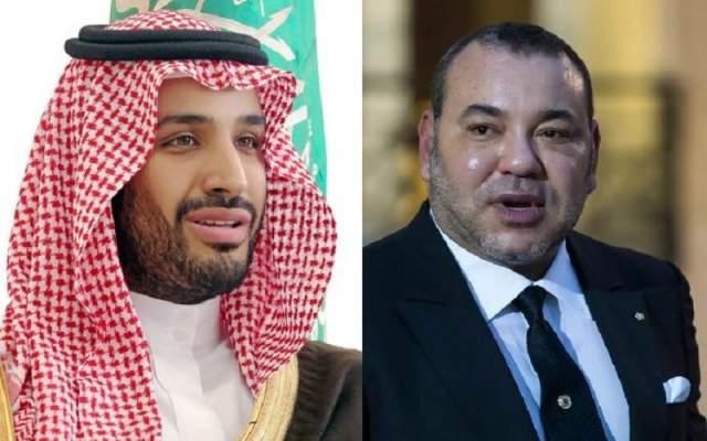 ولي العهد السعودي يبرق الملك محمد السادس