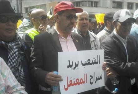 ال CDT بطنجة يطالبون بإطلاق سراح معتقلي حراك الريف