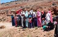 سيدي بوبكر إقليم جرادة.. مظاهرات بعد إعتقال أربعة أشخاص بسبب القوت اليومي