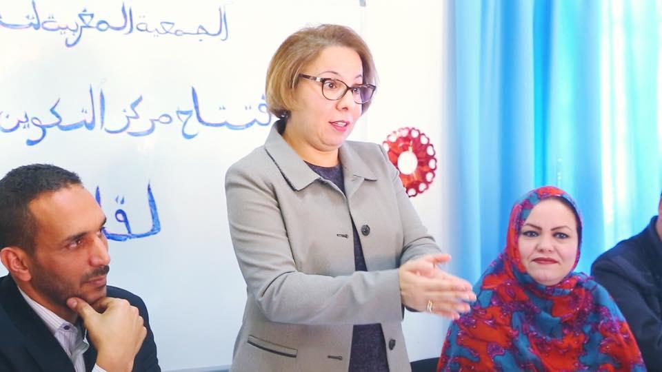 قيادية بحزب البام تقدم استقالتها من الحزب