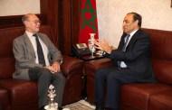 المالكي يستقبل سفير روسيا بالمغرب