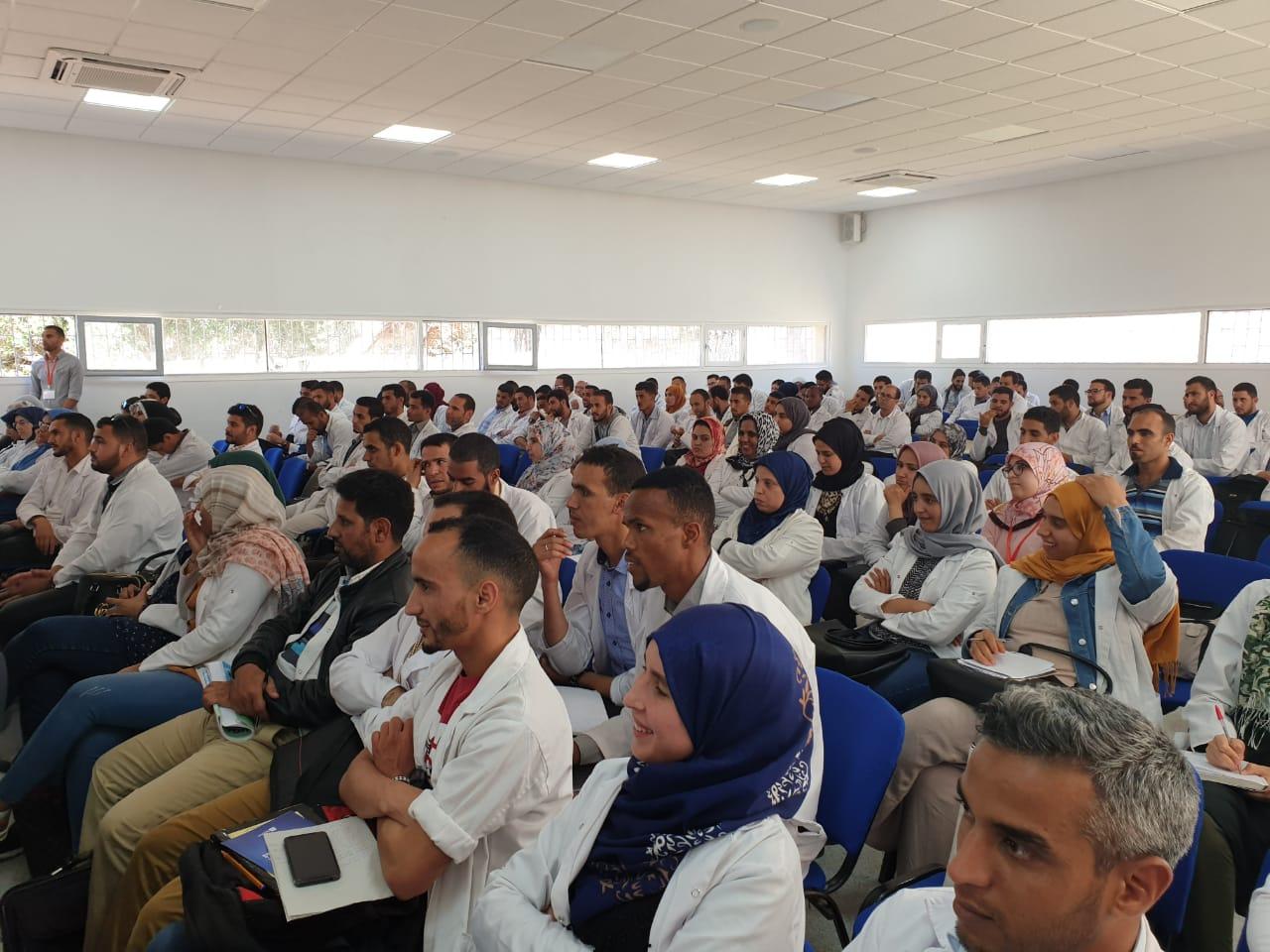 لقاء تواصلي للتضامن الجامعي المغربي