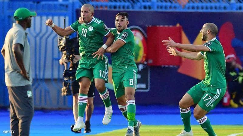 الجزائر تتأهل الى المربع الذهبي على حساب منتخب كوت ديفوار