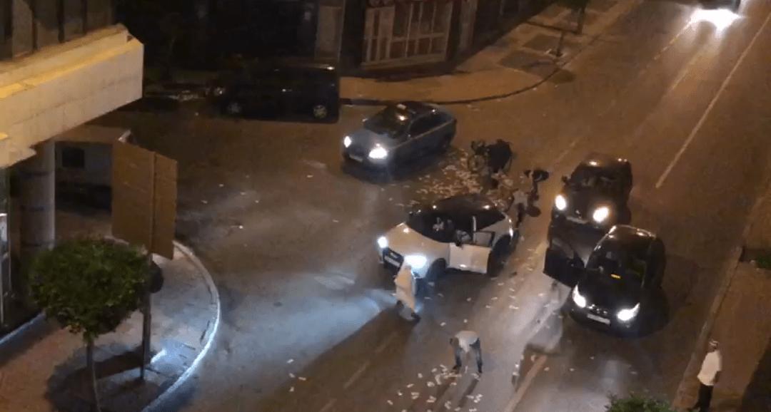 بالفيديو : استنفار في طنجة بعد رمي الملايين في الشارع