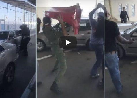 بالفيديو: عناصر الجمارك تطلق الرصاص الحي على مواطن مغربي اقتحم معبر سبتة المحتلة بالقوة !