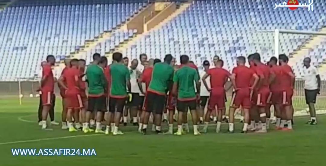 بالفيديو: أول حصة تدريبية لأسود الأطلس رفقة مدربهم الجديد خليلوزيتش