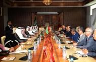 المالكي يستقبل رئيس لجنة الصداقة السعودية المغربية بمجلس الشورى السعودي