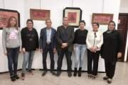 اختتام فعاليات المعرض الفردي للفنان والخطاط