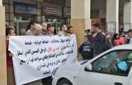 دوار بأكمله يحتج أمام المحكمة الابتدائية بطنجة لإطلاق سراح مسن اعتقل بسبب نزاع على أرض سلالية
