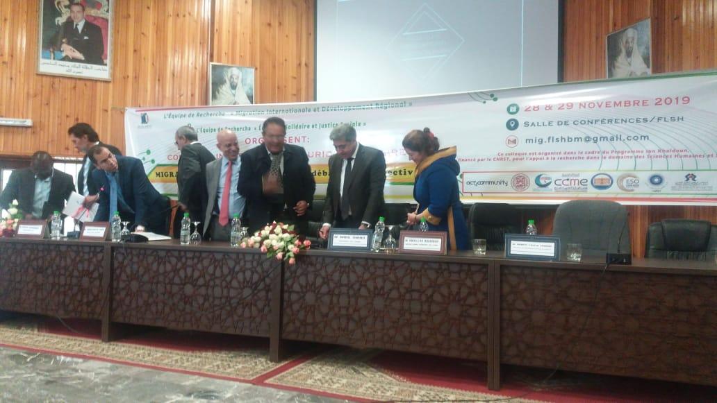 توقيع اتفاقية شراكة بين جامعة السلطان مولاي سليمان ومجلس الجالية المغربية بالخارج