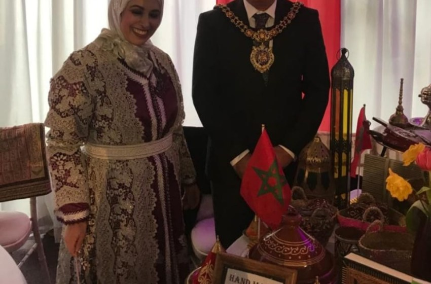 """حنان الحديوي: سفيرة الحضارة المغربية ب""""مانشستر"""""""