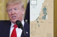 ترامب .. هذه خريطة دولة فلسطين المستقبلية