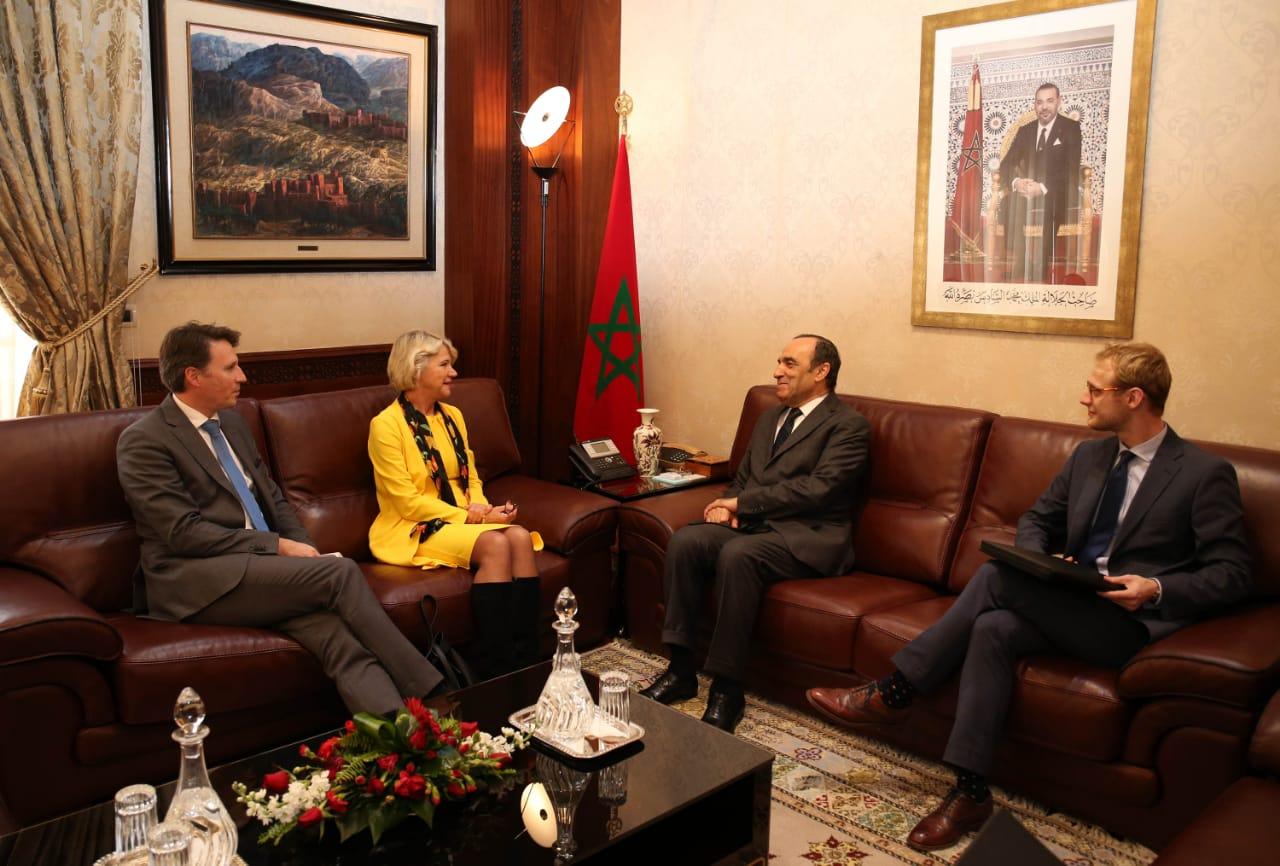 رئيس مجلس النواب يستقبل سفيرة هولندا بالرباط