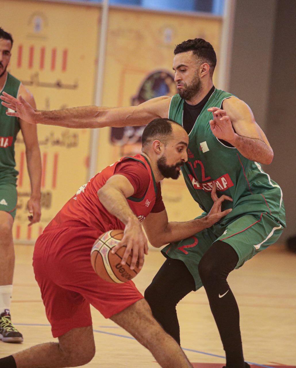 المنتخب المغربي لكرة السلة يفوز على نظيره الجزائري في ثاني مباراة ودية بالرباط