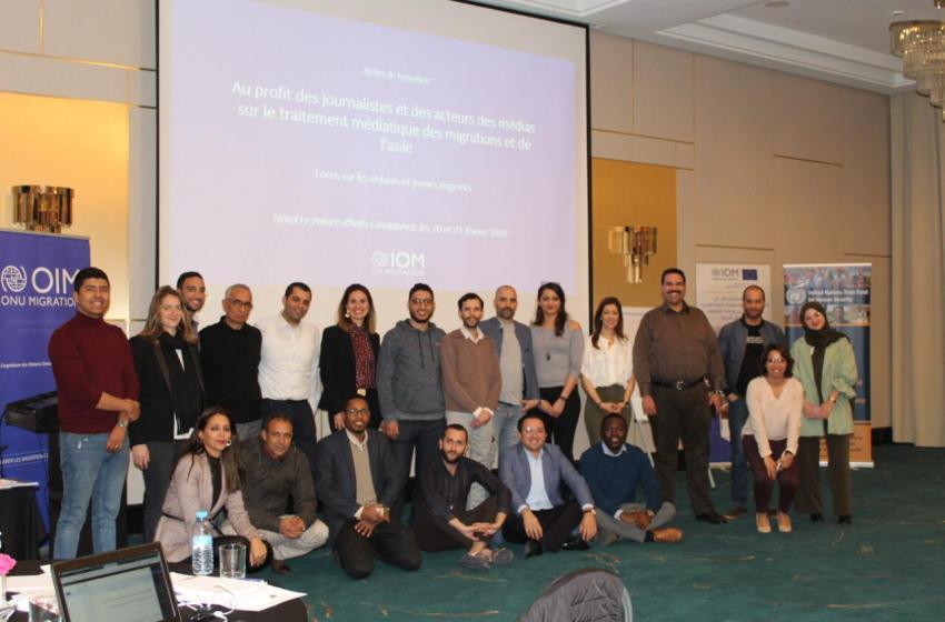 طلبة المعهد العالي للصحافة والإعلام يشاركون في دورة تكوينية منظمة من طرف الإتحاد الأوروبي والمنظمة الدولية للهجرة
