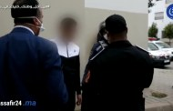 حملة أمنية بشوارع تيط مليل .. شوفو لحظة اعتقال المخالفين لحالة الطوارئ
