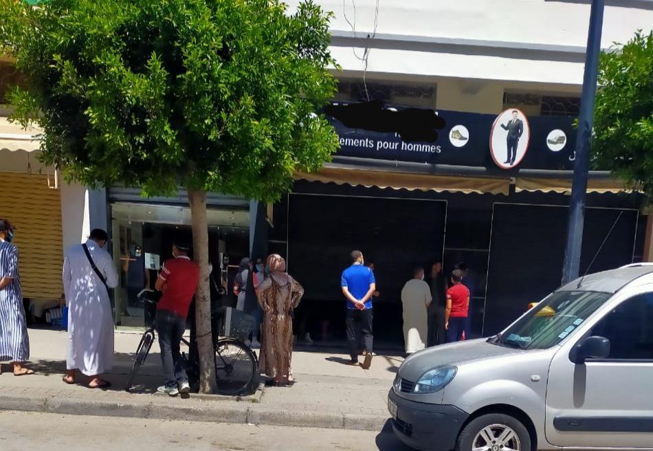 محلات تجارية تُهدد بظهور بؤرة وبائية جديدة بمدينة طنجة