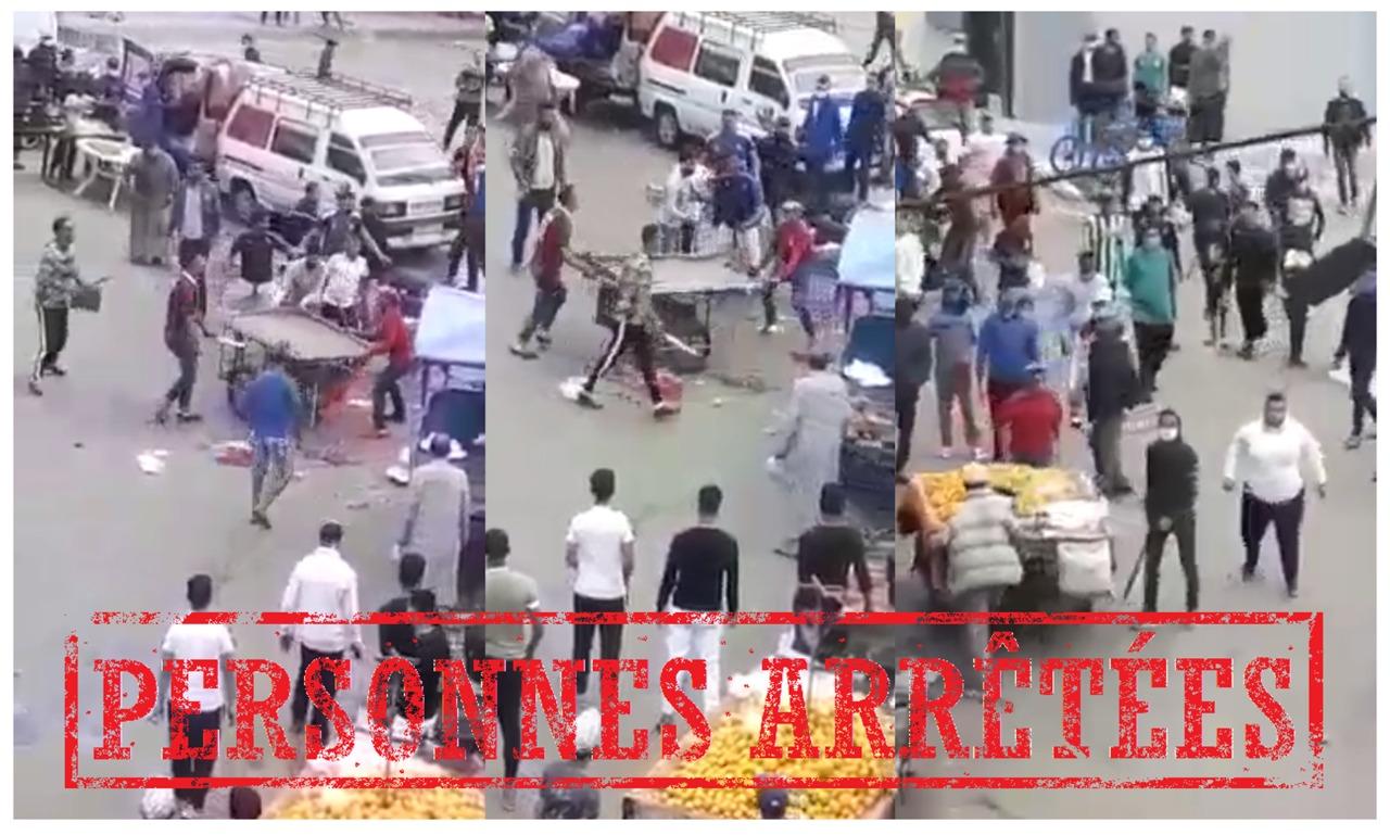 أمن البيضاء يوقف 3 أشخاص تبادلوا الضرب والجرح وخرقوا حالة الطوارئ الصحية