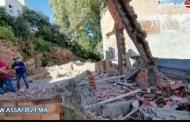 سلطات الملحقة الادارية السابعة بطنجة تهدم منزلا عشوائيا بحي البرانص