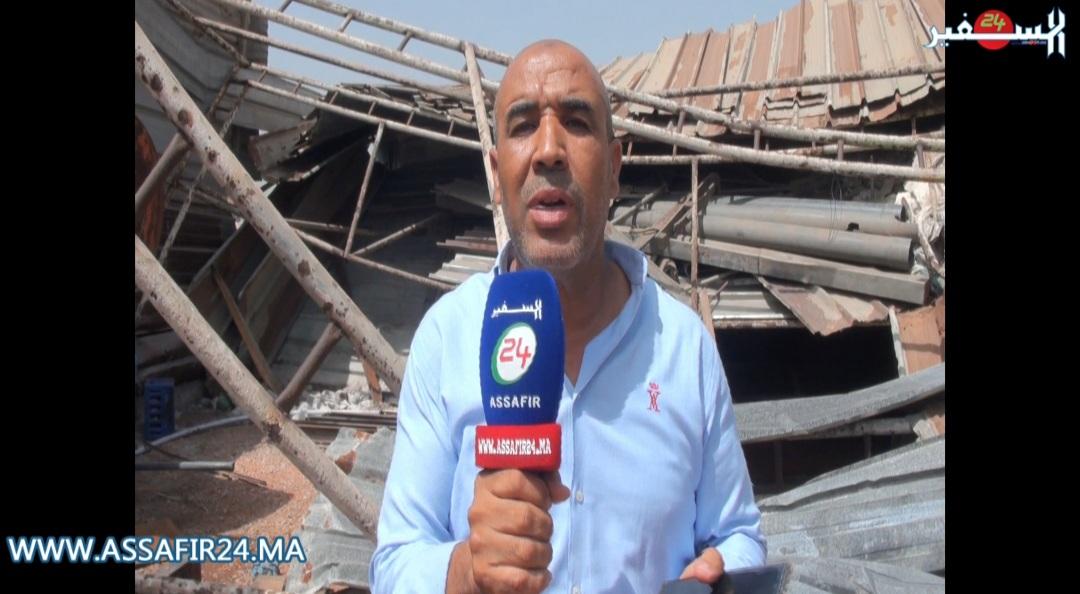 المحمدية..تاجر متلاشيات يشتكي من ظلم قائد بجماعة الشلالات
