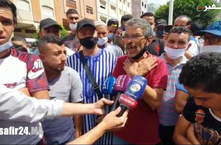 ساكنة طنجة مصدومة من خبر العثور على جثة الطفل عدنان وتطالب بإعدام الجاني