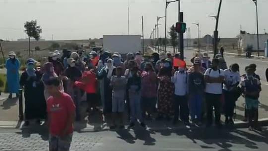 غضب و إحتجاجات في أوساط آباء و أمهات التلاميذ بسبب غياب النقل المدرسي بعين حرودة!!! - فيديو